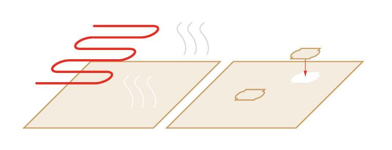 Suszenie i tzw. naprawianie forniru